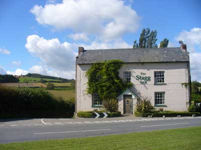 Stagg Inn Titley Herefordshire
