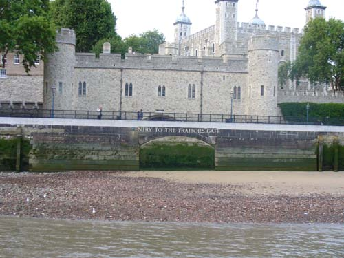 Tower of London Traitor's gate